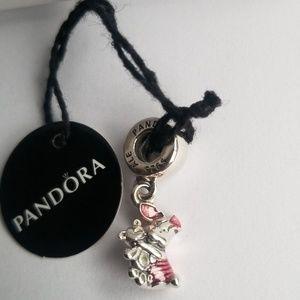 Pandora Disney Piglet Dangle Charm Winnie-the-Pooh